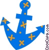 Ship anchor Vector Clipart image