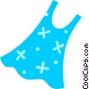 Vector Clip Art image  of a Summer dress