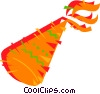 Party hat Vector Clipart illustration
