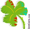 Vector Clipart picture  of a Clover