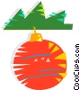 Vector Clipart picture  of a Christmas ornaments