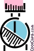 Wrist watch Vector Clipart graphic