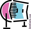 Rolodex Vector Clip Art graphic