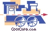 Locomotive Vector Clip Art picture