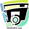 Vector Clip Art graphic  of a Camera