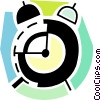 Vector Clipart picture  of an Alarm clock