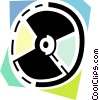 Vector Clipart image  of a Cd rom