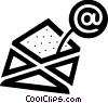 Vector Clip Art image  of a E-mail concept