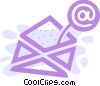 Vector Clip Art graphic  of a E-mail concept