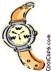 Wristwatch compass Vector Clipart graphic
