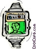 Wristwatches Vector Clip Art graphic