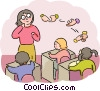 Vector Clipart picture  of a Teachers