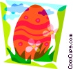 Easter egg Vector Clipart image