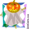 Vector Clip Art graphic  of a Pumpkins