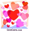 Valentine's day hearts Vector Clip Art graphic