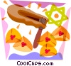 Party noise maker Vector Clip Art picture