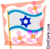 Vector Clipart picture  of a Star of David
