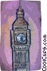 Big Ben London Vector Clipart image