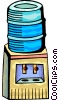Vector Clip Art graphic  of a Water Coolers