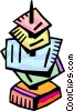 Vector Clipart illustration  of a Messages