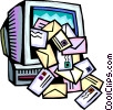E-mail concept Vector Clipart picture