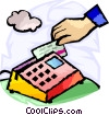 Vector Clipart image  of a Credit Cards