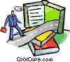 Vector Clip Art picture  of a Educational Concepts