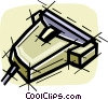 Vector Clipart picture  of a Hand scanner