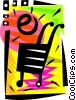 Vector Clipart illustration  of a Online shopping cart