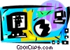 World network concept Vector Clip Art image