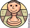 Chess piece Vector Clipart picture