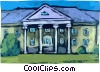 Vector Clipart illustration  of a Generic Buildings