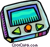 Pagers Vector Clip Art graphic