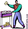 Postman  Mailman Vector Clip Art graphic
