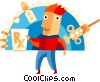 Patients Vector Clipart image