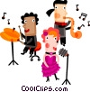 Jazz Combos Vector Clipart graphic