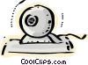 Personal Organizers Digital Assistants, PDA's Vector Clipart illustration