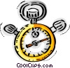 Stopwatches Vector Clipart illustration