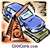 Vector Clipart picture  of an Automobile Design and