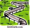 Vector Clipart image  of a Pipelines