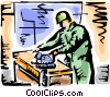 Carpenters Vector Clip Art picture