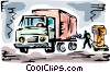 Vector Clip Art picture  of a Petroleum and Gasoline