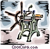 Vector Clipart illustration  of a Printing Trade