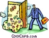 Doorways Vector Clip Art picture