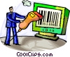 Bar Codes Vector Clipart graphic