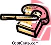 Vector Clip Art image  of a Bread