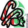 Candy Canes Vector Clip Art image