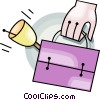Vector Clipart illustration  of a lunch box