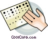 brail Vector Clipart image