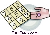 Vector Clipart picture  of a math